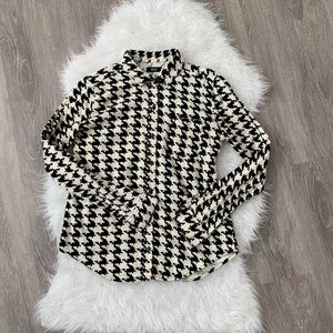Urban Outfitters BDG Houndstooth Button down